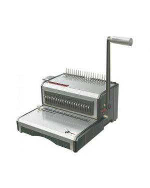 Perforatrice rilegatrice manuale dorso plastico Riman 50 DPR150