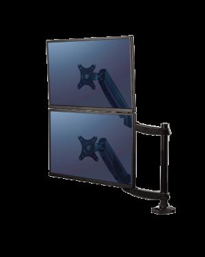 Braccio monitor doppio platinum Fellowes 8043401 50043859727976 8043401