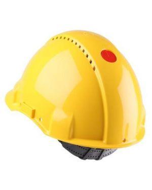 Elmetto ventilato giallo c - uvicator 3M G3000CUV-GU 4046719272471 G3000CUV-GU