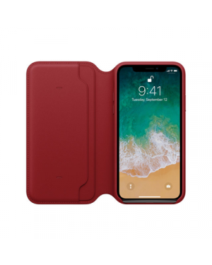 Iphone X  Leather Folio Apple cover Cod. MRQD2ZM/A 190198731074 MRQD2ZM/A by No