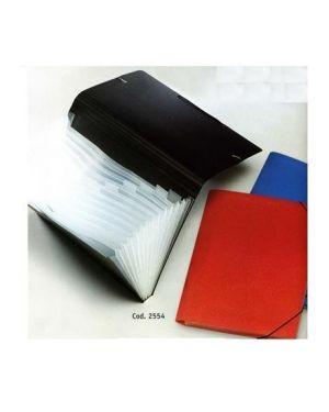 P - documenti a4 pp 13 scomp.ti rosso Lebez 2554-R 8007509255469 2554-R by Lebez