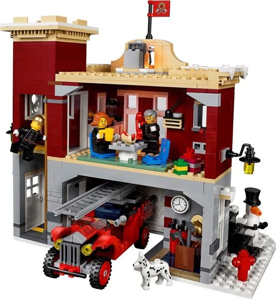 Caserma dei pompieri Lego 10263 5702016111811 10263 by Lego