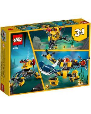 Robot sottomarino Lego 31090 5702016367850 31090 by Lego