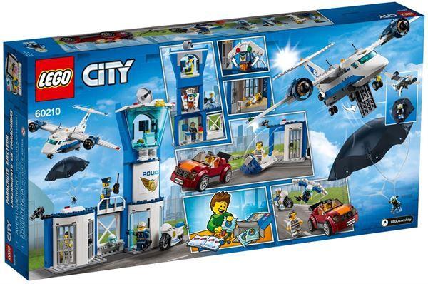Base della polizia aerea Lego 60210A 5702016369939 60210A by Lego