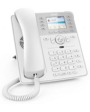 Telefono snom d735 w - o ps white Snom 4396 4260059582551 4396