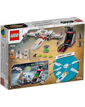 X-wing starfighter trench run Lego 75235 5702016370416 75235