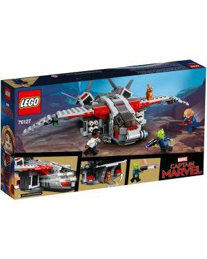 Captain marvel e l attacco - Captain marvel e l'attacco dello skrull 76127 by Lego