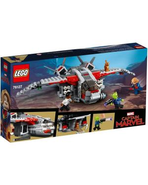 Captain marvel e l attacco Lego 76127 5702016369694 76127