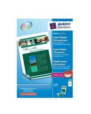 Carta fotogr.a4 120gr laser 200fg Avery 1198 4004182027097 1198