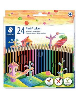pastelli noris colour Staedtler 185 C24 4007817009215 185 C24