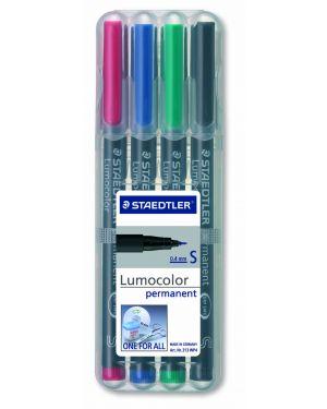 Busta 4 pennarelli lumocolor permanent 313 sf 0.4mm 313WP4 4007817308431 313WP4-1