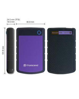 Storejet 25h3 hdd portatile TRANSCEND - HDD TS4TSJ25H3P 760557833604 TS4TSJ25H3P