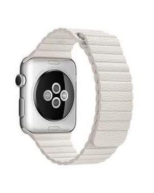 42mm white leather  - large Apple MMAX2ZM/A 888462855808 MMAX2ZM/A