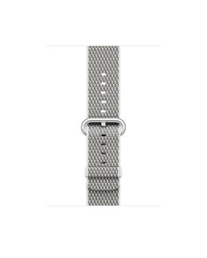 42mm white check woven nylon Apple MQVL2ZM/A 190198581068 MQVL2ZM/A