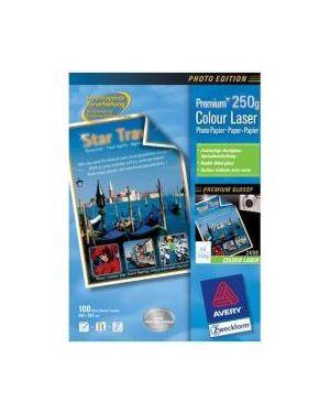 Carta fotogr.a4 250gr laser 100fg Avery 2498 4004182024621 2498
