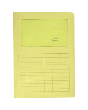 Cartellina sintex pz.10 giallo 440