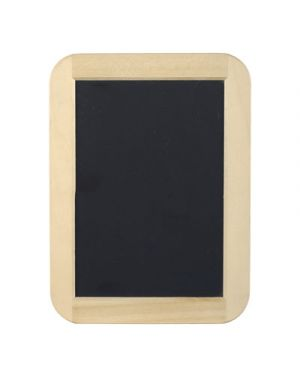Lavagna ardesia 14x19 con cornice in legno LEBEZ 80512 8007509075029 80512