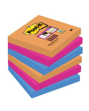 Post-it 654-6ss 76x76 borabora POST-IT 44910 0051141968834 44910