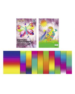 Carta arcobaleno  da disegno gr.130 23x33 cm fg.10 URSUS 15210099 176394 15210099