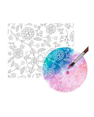 Carta magica a4 gr.250 fg 10 motivo floreale URSUS 81934604 4008525228417 81934604