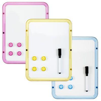 Lavagna magnetica 21x28,5 con 4 magneti e pennarello LEBEZ 80516 8007509075111 80516 by Lebez