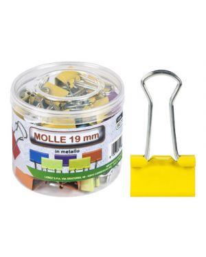 Molla fermacarte folback cm.1,9 pz.36 colori assortiti LEBEZ 80739 8007509086674 80739