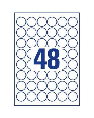 Etichette bianco d30 mm 20ff Avery L4716-20 4004182048405 L4716-20