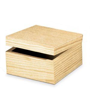 Scatoletta legno cm.15x15x9 CWR 4912 8004957049121 4912
