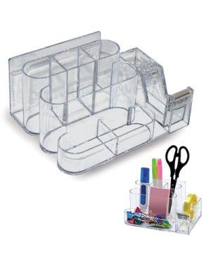 Desk organizer in ps con stendinastro LEBEZ 80593 8007509078181 80593