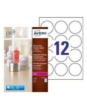Etichette laser diam 60mm 10ff Avery L7127-10 5014702015090 L7127-10