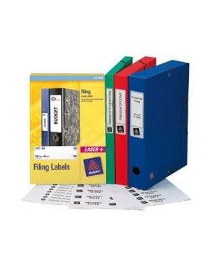 Etich.cartelle eurofolio 134x11 si Avery L7170-25 5014702004421 L7170-25