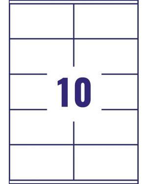 Etich.blockout 99 1x57 15ff - Etichette per indirizzi per pacchi L7173-15