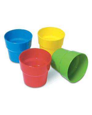 Bicchieri antiurto ml.250 - conf. 4 pz. - ass CWR 8033 8004957080339 8033