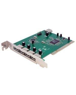 Scheda adattatore usb pci STARTECH - COMP. CARDS AND ADAPTERS PCIUSB7 65030836531 PCIUSB7_V930920 by Startech.com