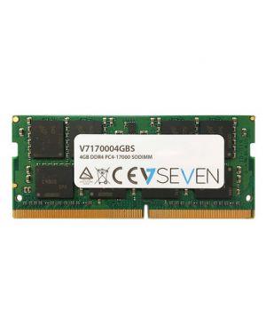 4gb ddr4 2133mhz cl15 non ecc V7 - DRAMS V7170004GBS 5050914959630 V7170004GBS