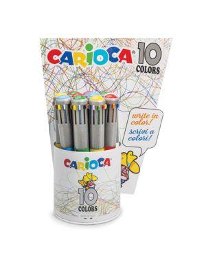 Sfera carioca maxi 10 colori fusto metalizzato CARIOCA 42762 8003511427627 42762