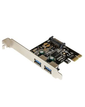 Scheda pci express usb 3.0 STARTECH - COMP. CARDS AND ADAPTERS PEXUSB3S23 65030851633 PEXUSB3S23_V932813 by Startech.com