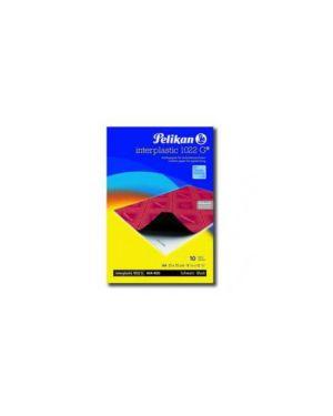 Carta carbone nero interplastic 1022g 10fg 21x31cm pelikan 401026 4012700401021 401026