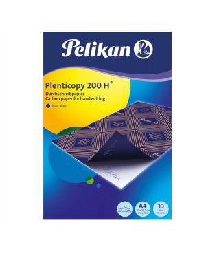 Carta ricalco blu plentycopy200 10fg 21x29,7cm pelikan 434738 4012700434739 434738
