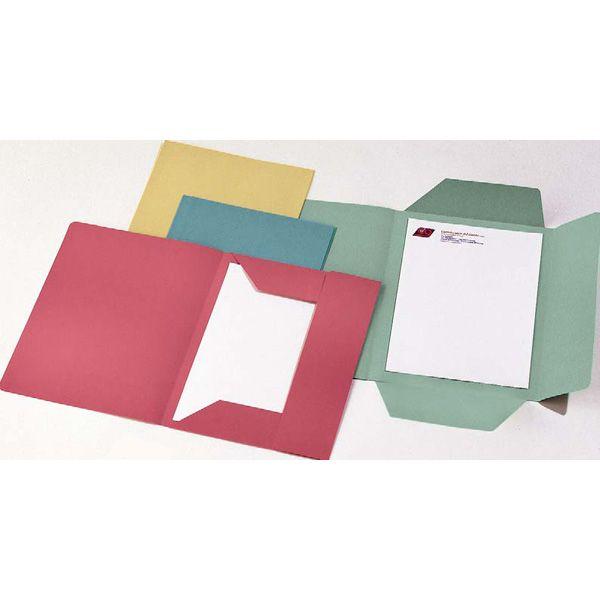 50 cartelline 3 lembi verde s - stampa 200gr CG0111MLXXXAJ03 8001182005588 CG0111MLXXXAJ03 by Cart. Garda