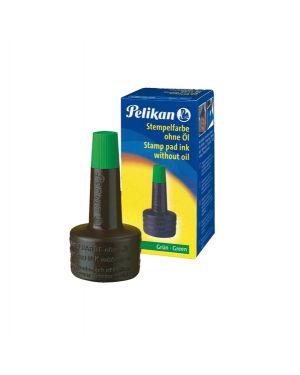 Inchiostro verde 4k s - olio 28ml x cuscinetti pelikan 351239 4012700351234 351239