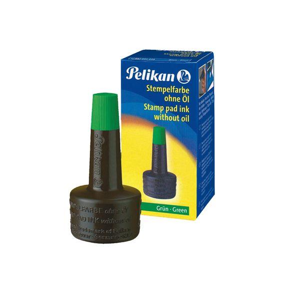 Inchiostro verde 4k s - olio 28ml x cuscinetti pelikan 351239 4012700351234 351239 by Pelikan