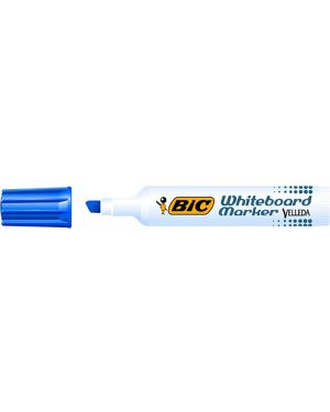 Pennarello velleda 1791 punta scalpello whiteboard blu bic 943194 47361 A 943194-1