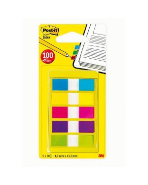 Miniset 100 post-it index 683-5cbeu formato mini 90842 3134375317085 90842