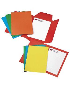 25 cartelline 3 lembi rosso bristol 200gr CG0112BLXXXAH02 8001182003133 CG0112BLXXXAH02