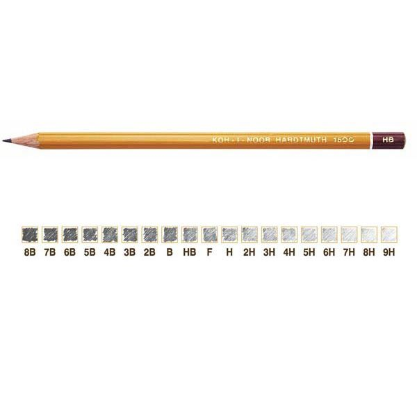 Scatola 12 matite h1500 2b koh.i.noor DHFH1500-2B 8032173013367 DHFH1500-2B by Koh.i.noor
