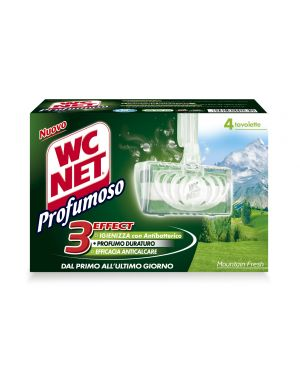 Wc net tavoletta profumoso montain fresh (4x34gr M74603 8004050001651 M74603