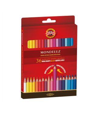 Astuccio 36 matite colorate acquarello kohinoor H2141N 8032173017860 H2141N