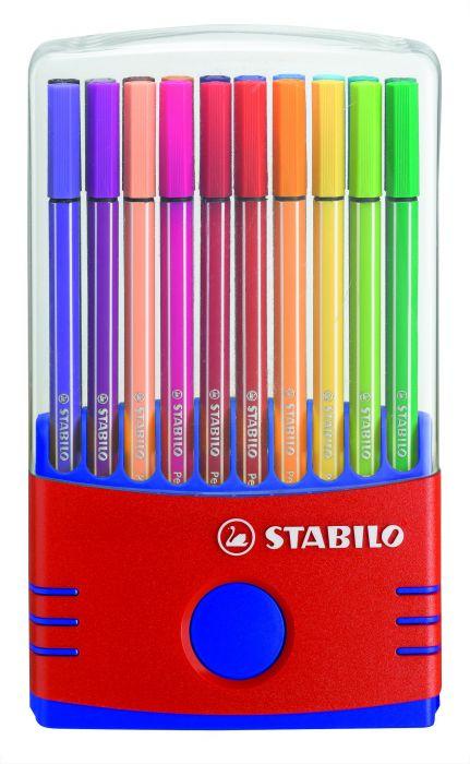 Astuccio 20 pennarelli stabilo pen 68 color parade 6820-04 4006381372213 6820-04 by Stabilo