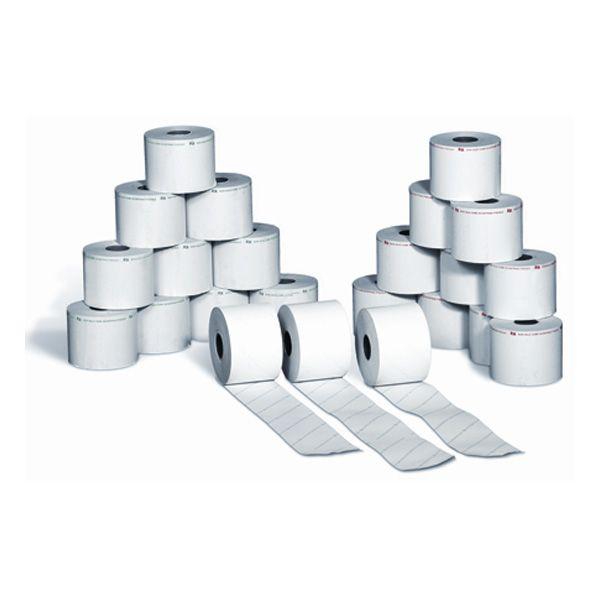 Blister 10 rotoli carta termica bilancia 62,5mmx30mt Ø 50mm BTF0625030012 8023215200104 BTF0625030012 by Rotomar